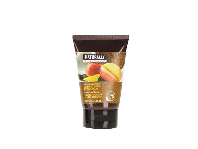 Naturally by Upper Canada Whipped Hand Repair Balm, Mango Coconut Milk, 4 fl oz