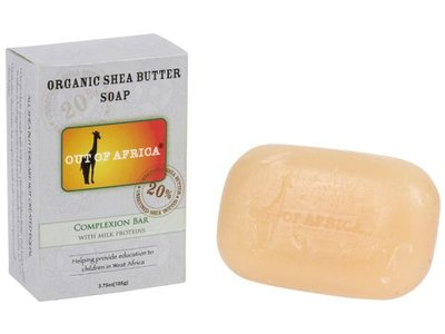 Out Of Africa Complexion Shea Butter Bar Soap, 4-Ounce