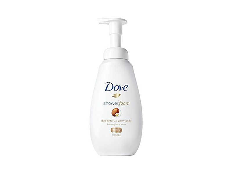 Dove Shower Foam Foaming Body Wash Shea Butter With Warm