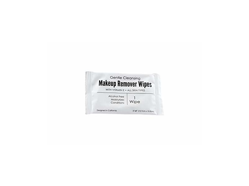 World Amenities Makeup Remover Cleansing Wipes, 1 count