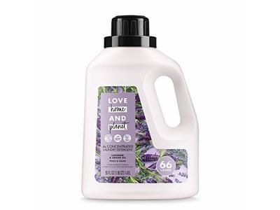 Love Home and Planet Laundry Detergent Lavender & Argan Oil, 50 oz