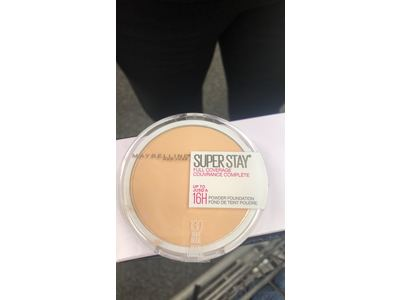 Maybelline New York Super Stay Full Coverage Powder Foundation Makeup Matte Finish, Buff Beige, 0.18 Ounce - Image 11