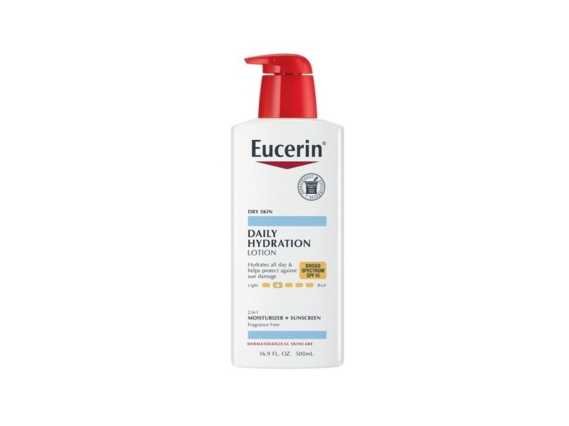 Eucerin Daily Hydration Broad Spectrum SPF 15 Body Lotion