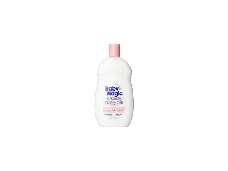 Baby Magic Creamy Baby Oil, Sweet Baby Rose, 16.5 oz