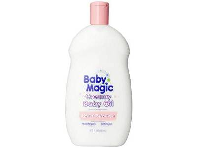 Baby Magic Creamy Baby Oil, Sweet Baby Rose, 16.5 oz