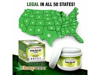 Original Hempvana Pain Relief Cream by BulbHead - The Hemp Cream for Pain Relief & Joint Pain Relief with Cannabis Seed Extract - Image 8