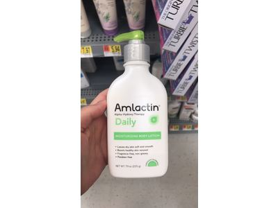 AmLactin Daily Moisturizing Body Lotion, 7.9 oz - Image 3