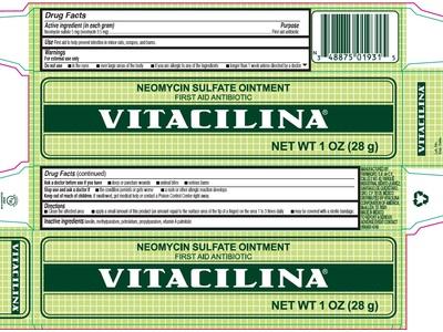 Vitacilina Neomycin Sulfate First Aid Ointment, 1 oz - Image 5
