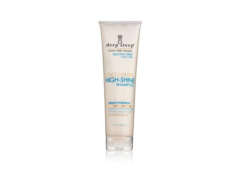 Deep Steep Coconut Oil High Shine Shampoo with Organic Coconut Oil
