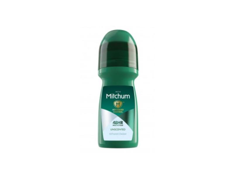 Mitchum Advanced Control Roll-On Antiperspirant & Deodorant, Unscented, 50 mL
