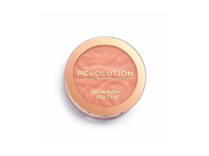 Revolution Blusher Reloaded, Peach Bliss, 0.26 oz/7.5 g