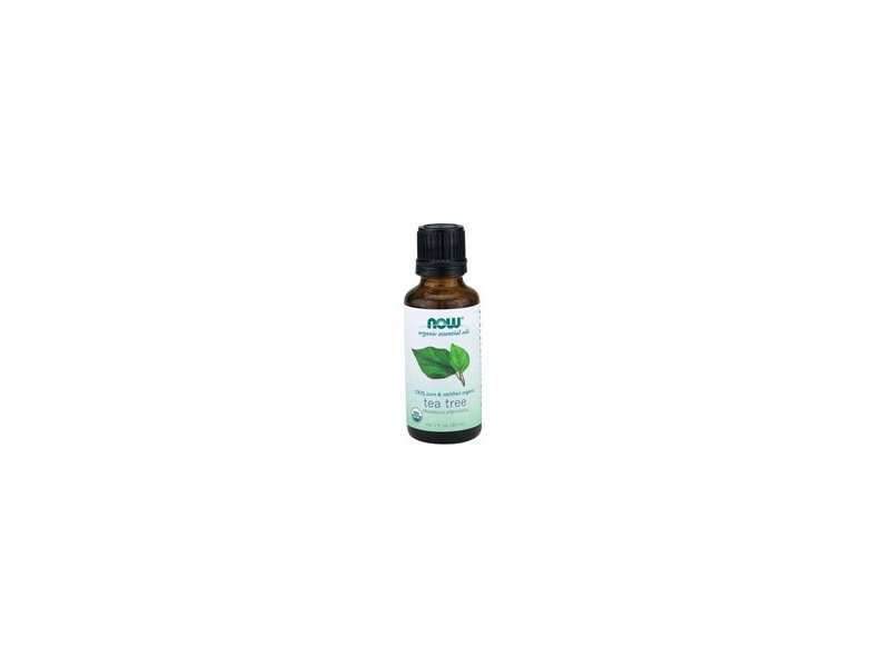 NOW Foods Organic Tea Tree Oil, 1 fl oz