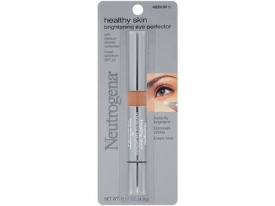 Neutrogena Healthy Skin Brightening Eye Perfector, Medium 15, 0.17 oz (Case of 36)