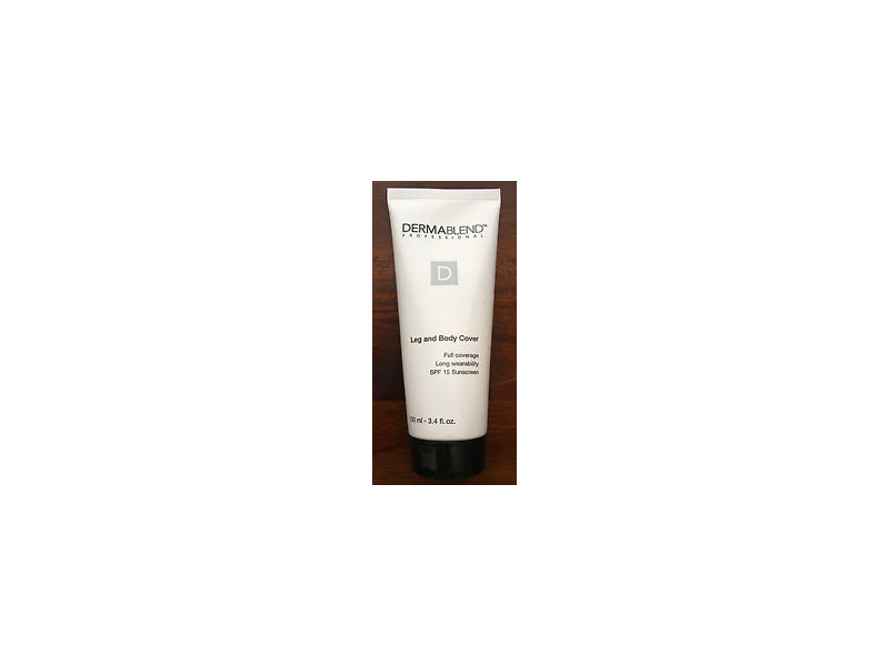 Dermablend Leg and Body Cover, SPF 15, Light