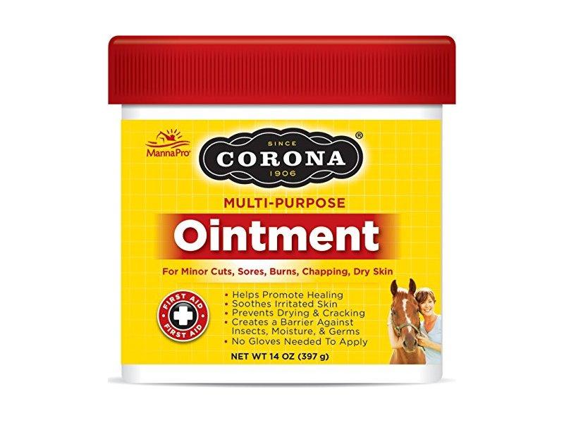 Manna Pro Corona Ointment jar, 14 oz/ 397 g
