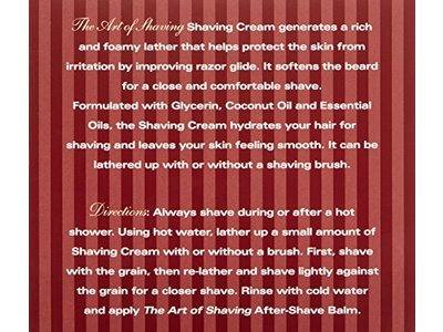 The Art of Shaving Shaving Cream, Sandalwood, 5 fl. oz. - Image 8