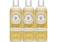 Burt's Bees Baby Shampoo & Wash, Fragrance Free, 12 Ounces - Image 2