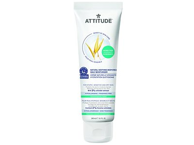Attitude Natural Soothing Body Cream - Daily Moisturizer, Fragrance Free, 8.1 Fluid Ounce