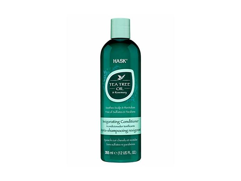Hask Tea Tree Oil And Rosemary, Scalp Care Conditioner, 12 fl oz / 355 ml