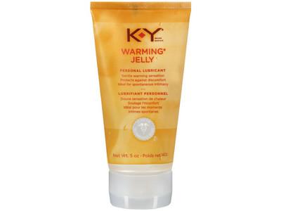 K-Y Warming Jelly Personal Lubricant, 2.5 oz