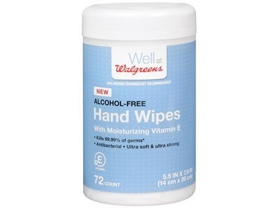 Well At Walgreens Hand Wipes, 72 ct