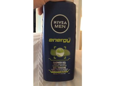 Nivea Men Shower Gel, Energy, 500ml - Image 9