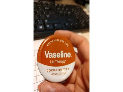 Vaseline Lip Therapy Lip Balm Tin, Cocoa Butter, 0.6 ounce - Image 6