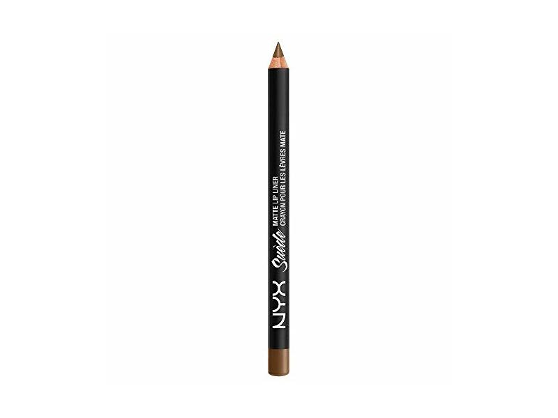 NYX Suede Matte Lip Liner SMLL22 Downtown Beauty GLITZ, .04 oz