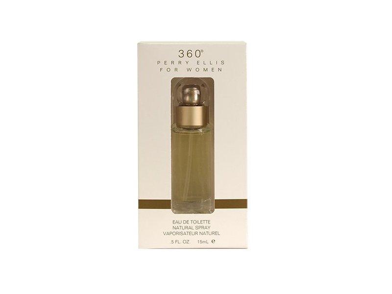 Perry Ellis 360 for Women Eau De Toilette Spray, 0.5 Ounce