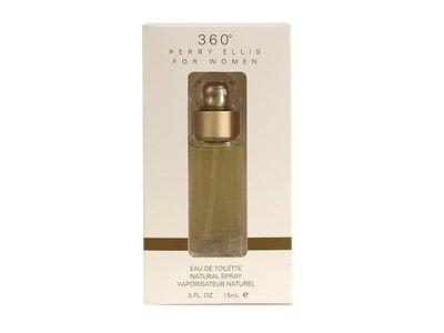Perry Ellis 360 for Women Eau De Toilette Spray, 0.5 Ounce