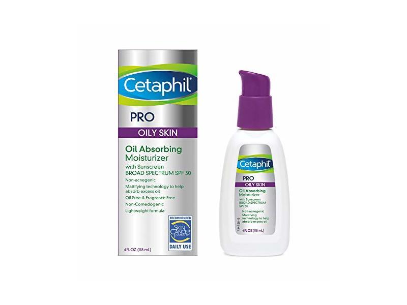 Cetaphil Pro Oil Absorbing Moisturizer, SPF 30, 4 fl oz