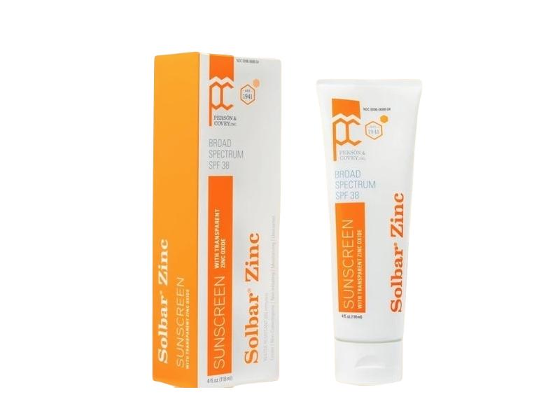 Solbar Zinc Sunscreen, SPF 38, 4 fl oz (118 mL)
