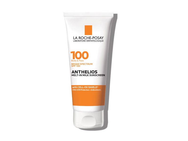 La Roche-Posay Anthelios Melt-in Milk Sunscreen for Face & Body, SPF 100, 3 oz.