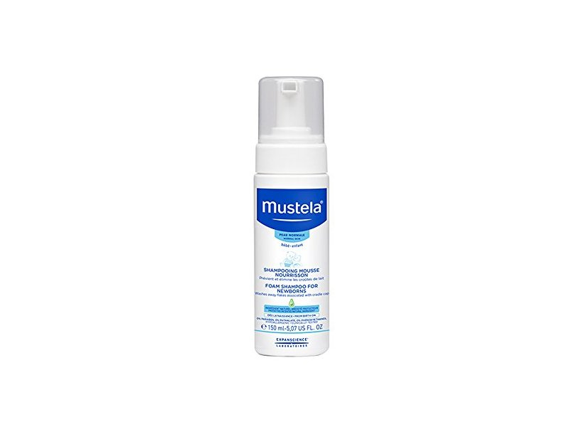 Mustela Foam Shampoo for Newborns, 5.1 oz.