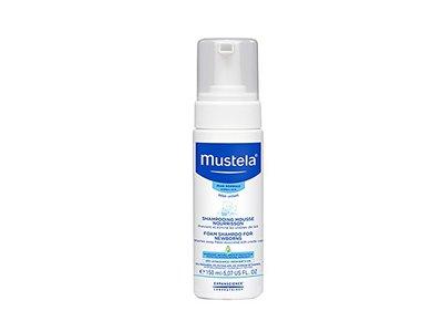 Mustela Foam Shampoo for Newborns, 5.1 oz. - Image 1