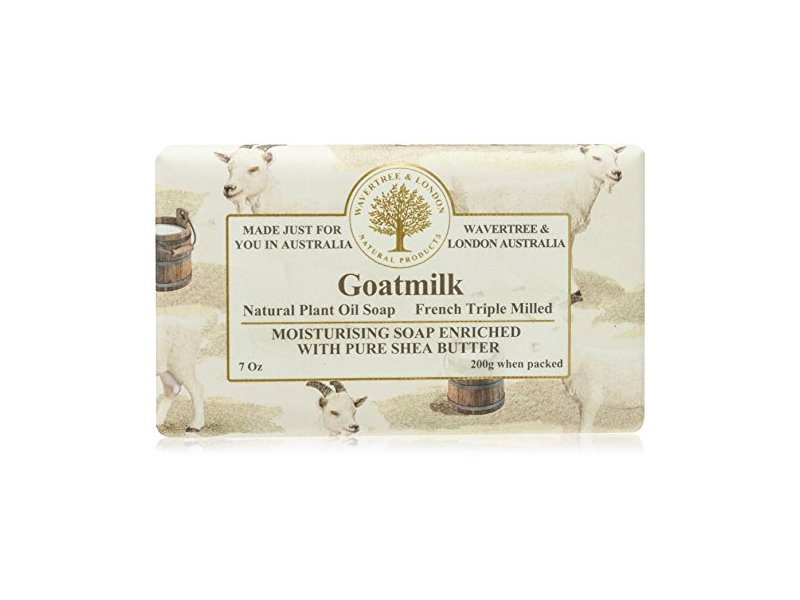 Wavertree & London Goatmilk Moisturising Soap, 7 oz / 200 g