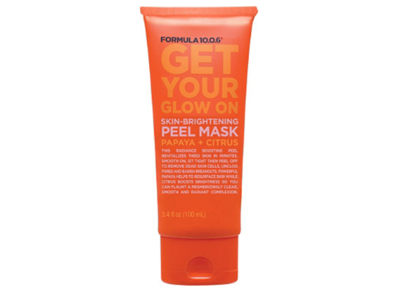 Formula 10.0.6 Get Your Glow On Skin-Brightening Peel Mask, Papaya + Citrus, 3.4 fl oz