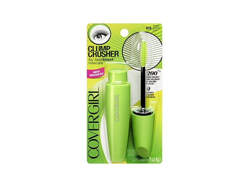 1ae47122b77 CoverGirl Clump Crusher Mascara, Brown 815, 0.44 fl oz Ingredients ...