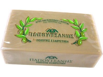 Papoutsanis Traditional Olive Oil Soap - Image 1