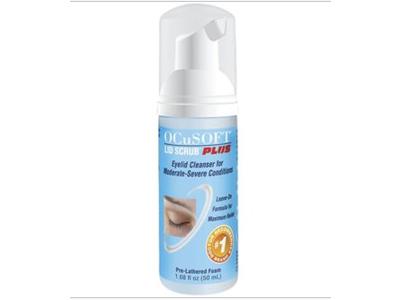 OCuSOFT Lid Scrub Foam Plus Foaming Eyelid Cleanser, 50 mL