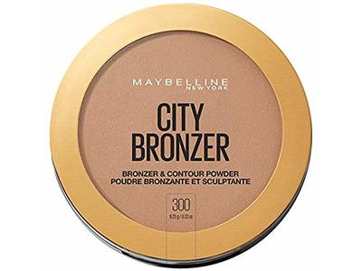 Maybelline New York City Bronzer & Contour Powder, 300, 0.32 oz - Image 1