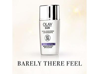 Olay Sun Facial Sunscreen + Shine Control, SPF 35, 40 mL - Image 6