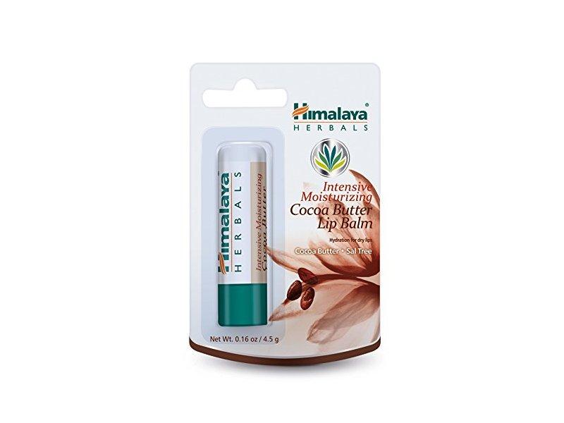 Himalaya Intensive Moisturizing Cocoa Butter Lip Balm, 0.16oz/4.5gm