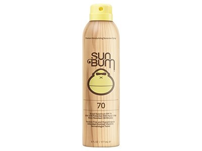 Sun Bum Moisturizing Sunscreen Spray SPF 70, 6 fl oz