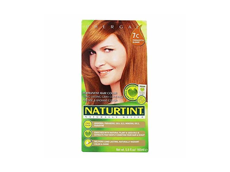 Naturtint Permanent Hair Colorant, 7C Terracotta Blonde, 5.6 fl oz