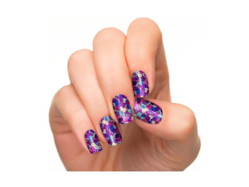 Incoco Nail Polish Strips, Nail Art, Confetti