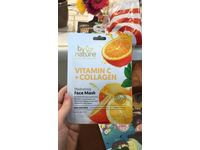 by nature Vitamin C + Collagen Hydrating Face Mask, 25 g - Image 3