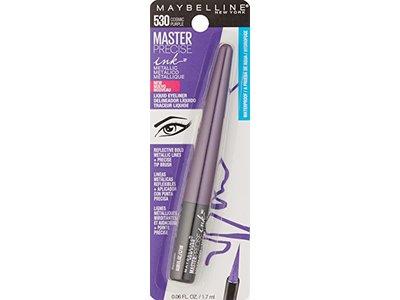 Maybelline New York Master Precise Ink Metallic Liquid Liner, Cosmic Purple, 0.06 Fluid Ounce - Image 5