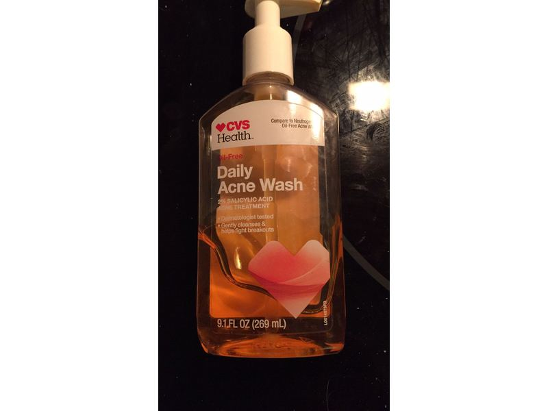 Cvs Health Daily Acne Wash 9 1 Fl Oz Ingredients And Reviews