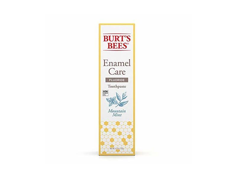 Burt's Bees Enamel Care Fluoride Toothpaste, Mountain Mint, 4.7 oz